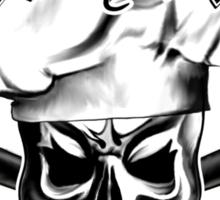 Baker Skull 3: Killer Baker and Crossed Whisks Sticker