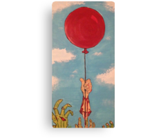 Little Red Balloon  Canvas Print