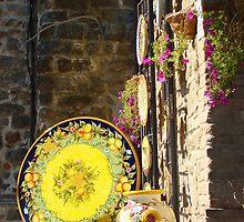 Deruta, Italy by Jennifer Jones