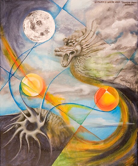 Chinese Zodiac - Dragon by Colleen D. Gjefle