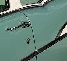 1957 Chevy Sedan Detail by Anna Lisa Yoder