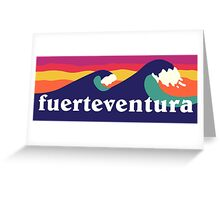 Fuerteventura - Waves Greeting Card