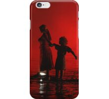 Family Walk On Water, Sydney Festival 2008 iPhone Case/Skin