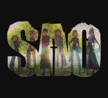 Sword Art Online Logo 2 by wonderworks