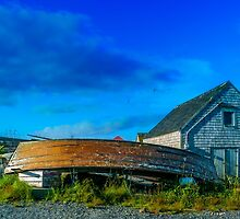 Behind the Fishing Shed by kenmo