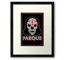 Parque Mask Design Framed Print