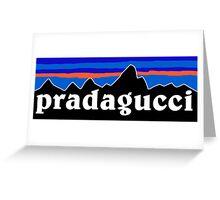 Pradagucci Greeting Card