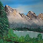 Mountain Scene In My Mind by NatureGreeting Cards ©ccwri