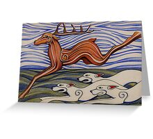 Hounds of Arawn Greeting Card