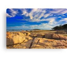 Sandstone Sunset Canvas Print