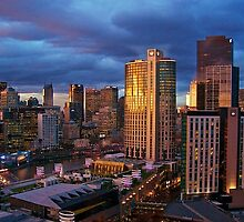Early Morning Melbourne Vic by D-GaP