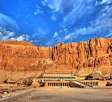 Temple of Hatshepsut by Roddy Atkinson