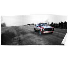 Ford Escort Mk2 Rally Car Poster