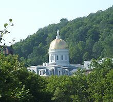 Vermont State Capital in Montpelier. by James Young