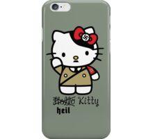 Naughty Kitty Series: Heil Kitty iPhone Case/Skin