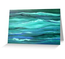 Ocean swell'... Greeting Card