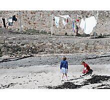 Washing Day Photographic Print
