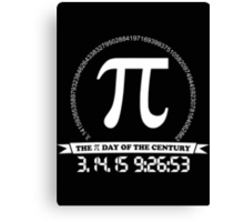 2015 Pi day of the century Canvas Print