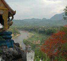 Nam Khan River, Luang Prabang, Laos by Trevor Needham
