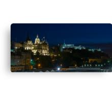 Edinburgh Castle by night Canvas Print