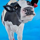 The Fresian Cow who had dreams of being a ballet dancer by shona stewart