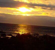 Rhode Island sun rise by kristinf88