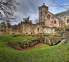 Culross Abbey by Jeremy Lavender Photography