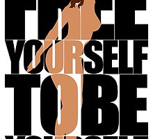 Free Yourself Tentative Woman by Nude-is-Life
