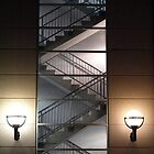 Stairs at Night by feldore