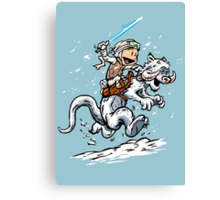 Calvin and Hoth Canvas Print