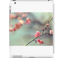 Pink Ume iPad Case/Skin