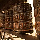 Prayer Wheels by Jennifer and Paul Cave
