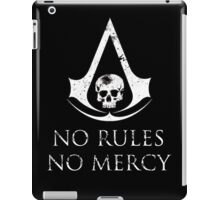 Assassins Creed Black Flag No rules iPad Case/Skin
