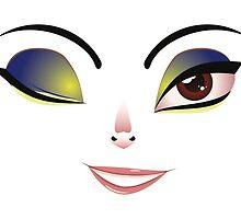 Facial Expression of Woman 2 by AnnArtshock
