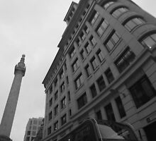Monochrome Monument by j-s-edwards