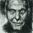 Charcoal Portrait3 by Josh Bowe