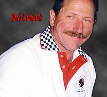 Dale Earnhardt The Intimidator by Angi Baker