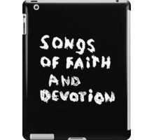 Depeche Mode : Paint of Song Of Faith and Devotion - Only Title iPad Case/Skin