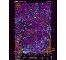 Maine USGS Historical Map Lincolnville 808031 2000 24000 Inversion Photographic Print