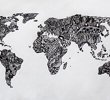 Word Map in a parallel universe by monicamarcov