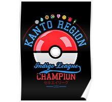 Kanto region champion Poster