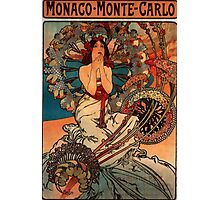 'Monaco' by Alphonse Mucha (Reproduction) Photographic Print