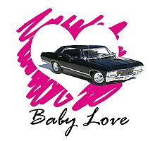 Baby Love - Supernatural inspired! Photographic Print