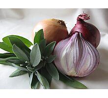 Sage & Onion Photographic Print