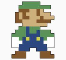 Super Mario 3D World Luigi Sprite by NiGHTSflyer129