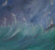 Passing Storm by Linda Ridpath
