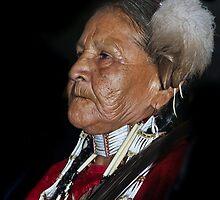 Tribal  Elder  by heatherfriedman
