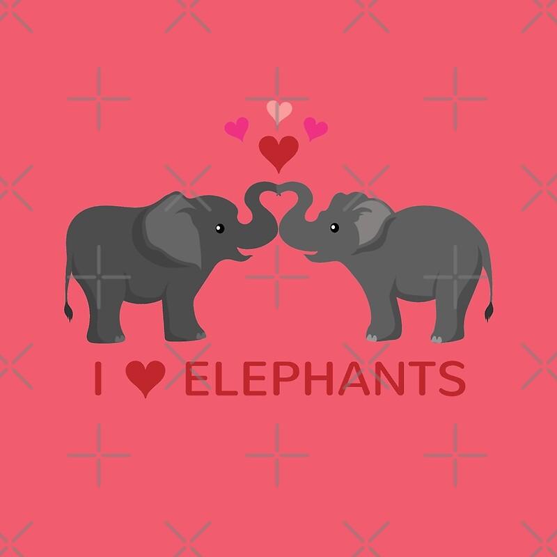 Elephant love heart for Elephant heart trunk