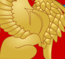 Montenegrin Air Force Cot of Arms Sticker
