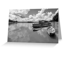 Amazon boats Greeting Card